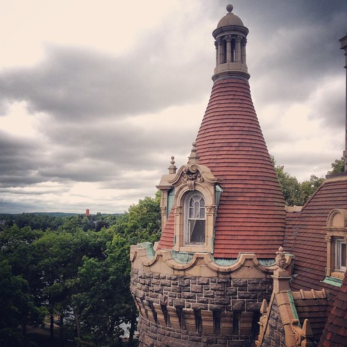 A turret with a view, Boldt Castle