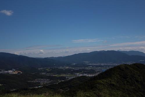city sky view fukuoka