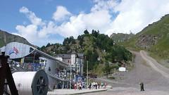 Azau (Terskol) - dolna stacja  kolei linowej