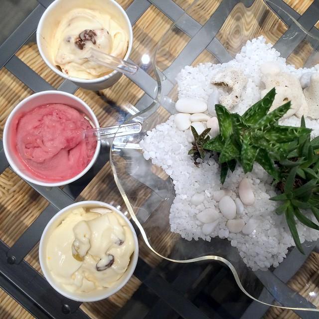Whimsical Gelateria & Cafe - publika - sangria, rum and raisin, baileys