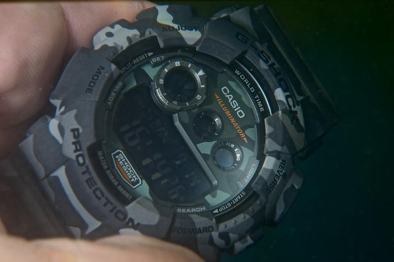 La G-Shock camouflage en immersion 15053309278_e2c847e7cf_c