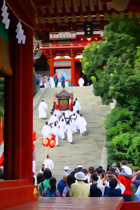 鎌倉 鶴岡八幡宮 例大祭 神幸祭
