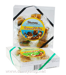 Shurms Soft Candy Chews: Caramel Coffee & Caramel Apple