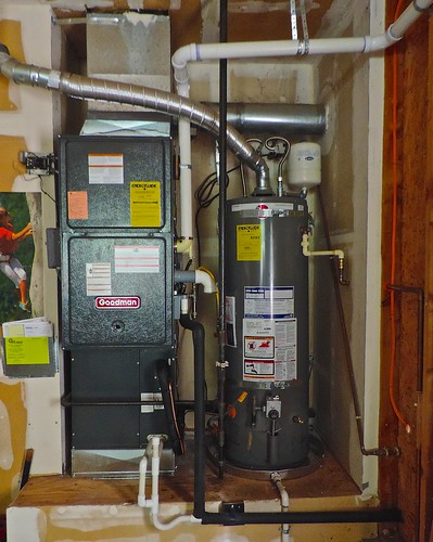 2014 furnace and 2014 hot water heater | by nordique