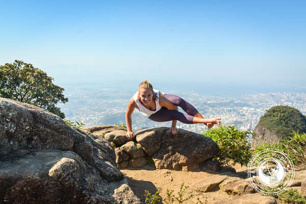 The Best Views in Rio Yoga on Tijuca Mirim peak Rio de Janeiro