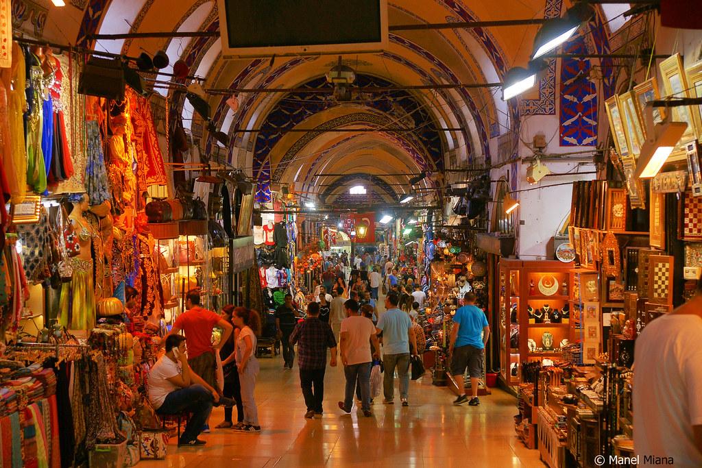 Gran bazar-Estambul.