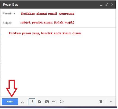 cara kirim email di gmail