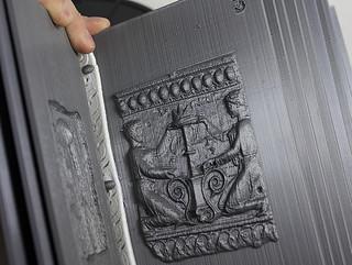 3D-printed book