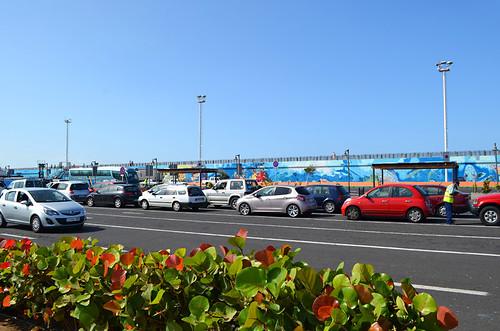Ferry parking, Los Cristianos, Tenerife