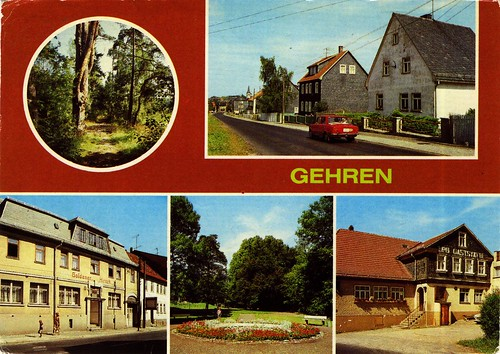 Germany - Gehren 01 - 1985 - front
