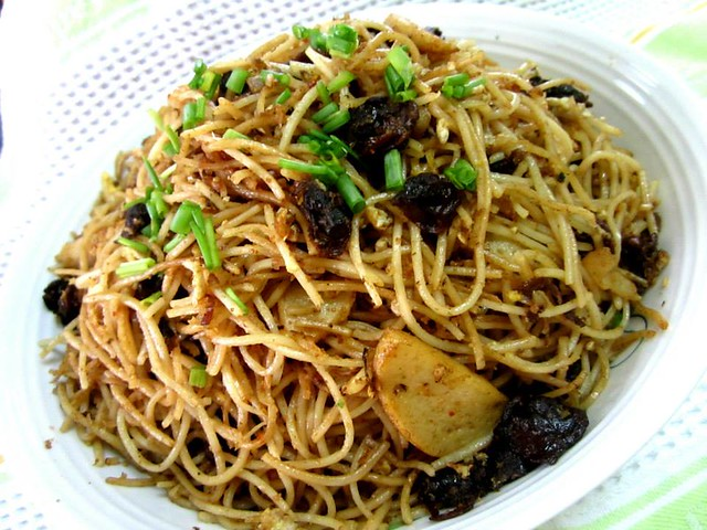 Fried mee teow 1