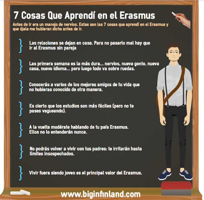 7 cosas que me hubiera gustado saber antes del Erasmus