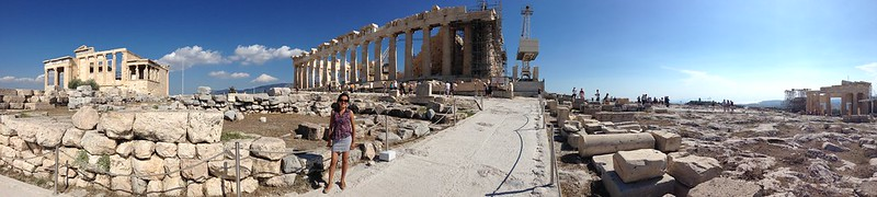 Acropolis of Athens - with the Parthenon in the middle