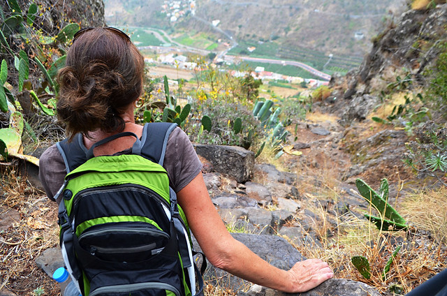Looking back on Hermigua, La Gomera