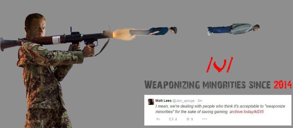 Weaponizing Minorities