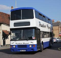 Panther Travel Ltd . Parkeston , Essex . BIG7758 ( ex F640 LMJ ) . Dunmow Road , Bishops Stortford , Hertfordshire . Monday 08th-September-2014 .
