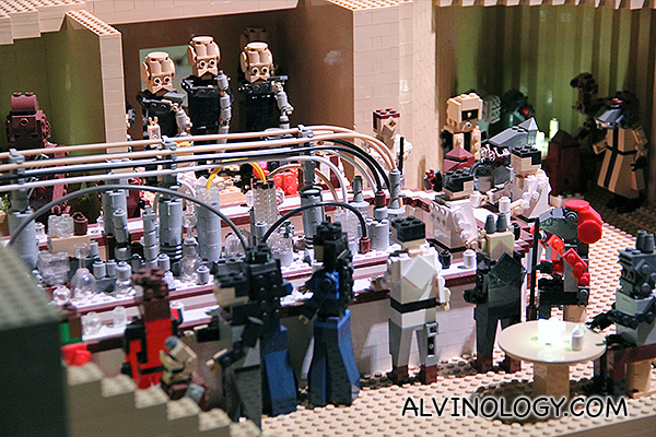 A real LEGO Star Wars band