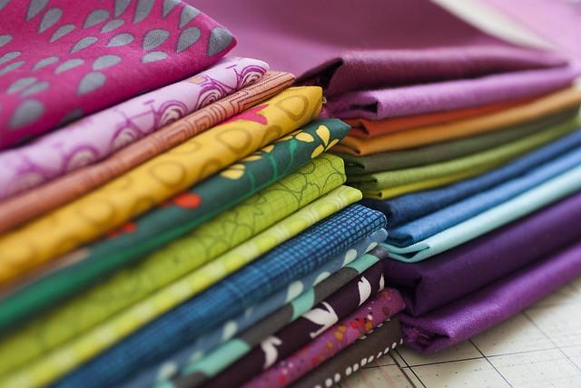 Rainbow Fabric Pull