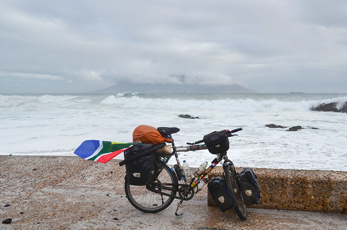 Cycling adventure reached Cape Town