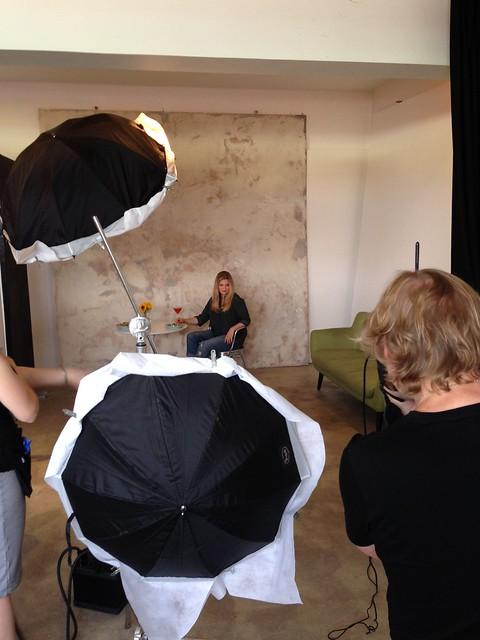 Mag behind the scenes