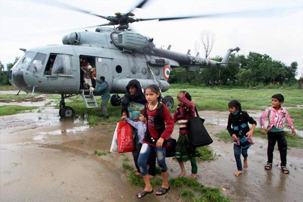 जम्मू कश्मीर में बाढ़