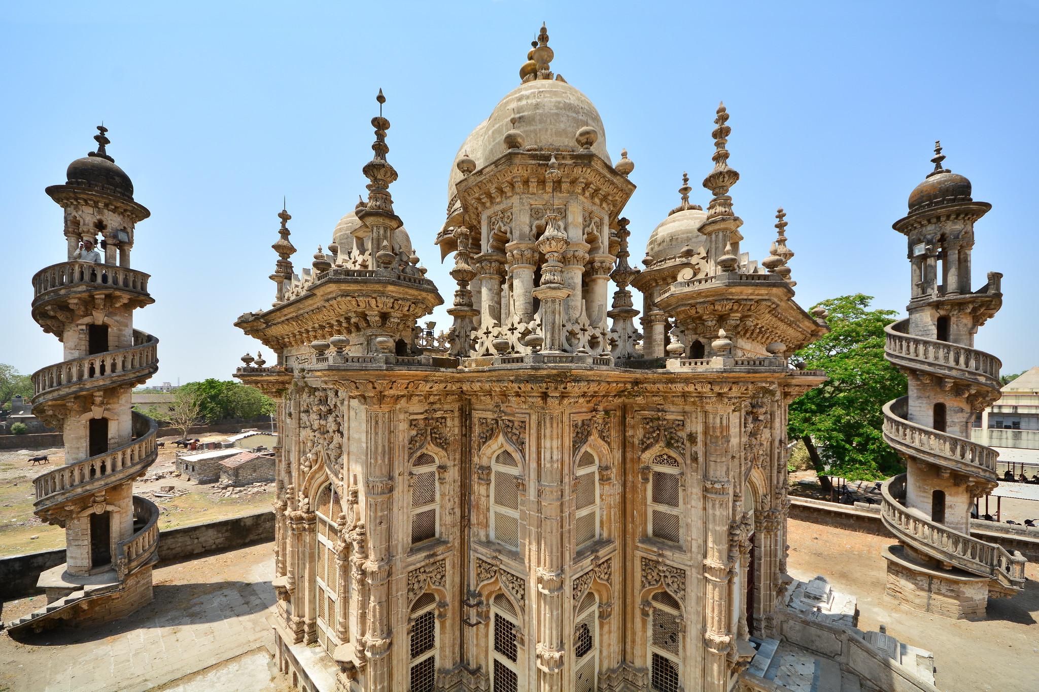Junagadh India  city photos gallery : India Gujarat Junagadh Mahabat Maqbara Palace Mausol… | Flickr ...