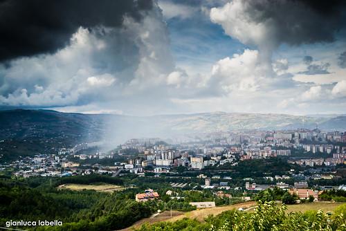 clouds la nuvole potenza mm 18 55 pioggia paesaggio arriva d3100