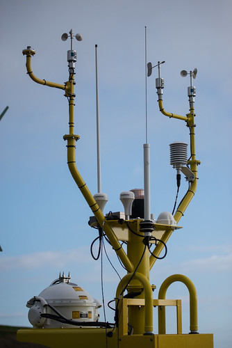 Offshore Wind Buoy with Instruments