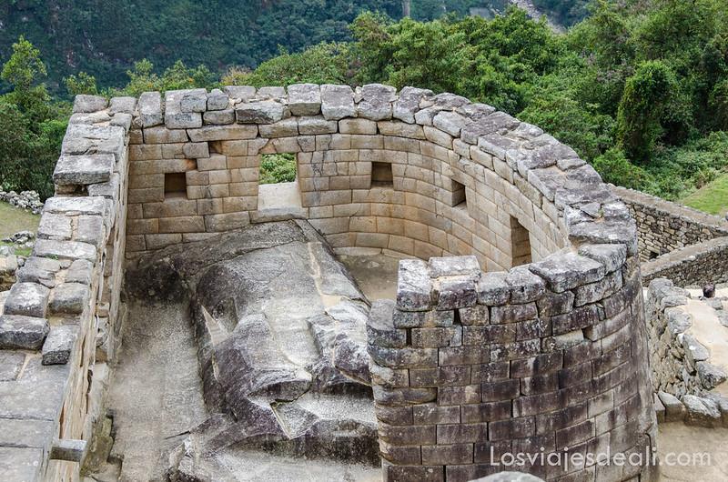 templo del sol de Machu Picchu