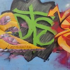 DTS mientras estemos vivos el graffiti nunca morirá ... muro con @yogauno @siriusdts1 @aswedts  @kluchkdts