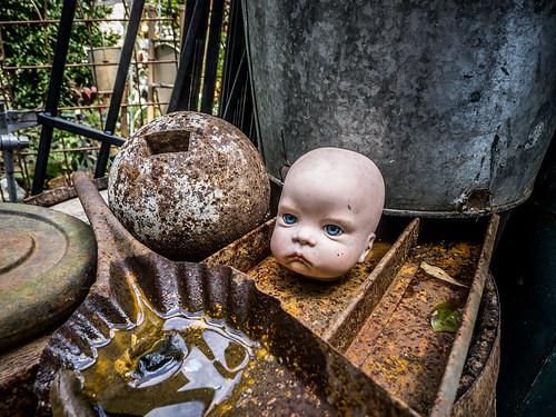Angry Doll Head