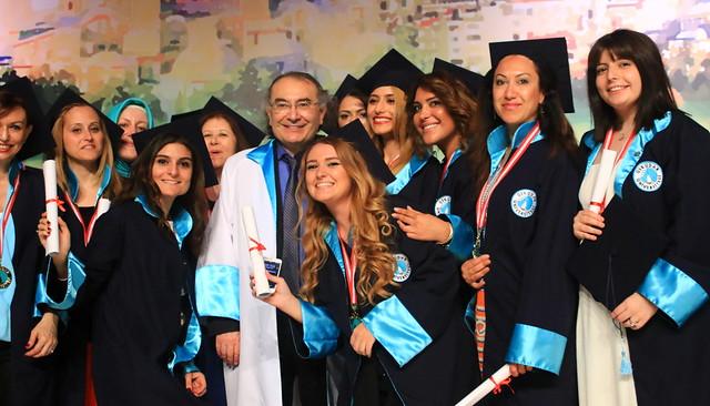 Üsküdar Üniversitesi 2015 ön lisans ve yüksek lisans mezunlarını verdi
