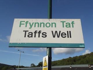 Image of The Taff's Well. greatbritain southwales wales unitedkingdom cymru cardiff caerdydd taffswell rhonddacynontaf ffynnontaf southglamorgan arrivatrainswales midglamorgan capitalofwales taffswellstation gorsafffynnontaf