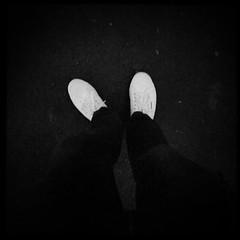 white shoes at nite