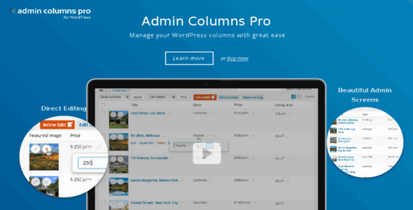 Admin Columns Pro v4.0.11 – WordPress Plugin