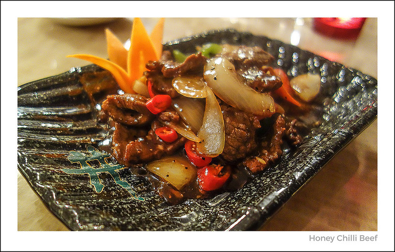 Honey Chilli Beef