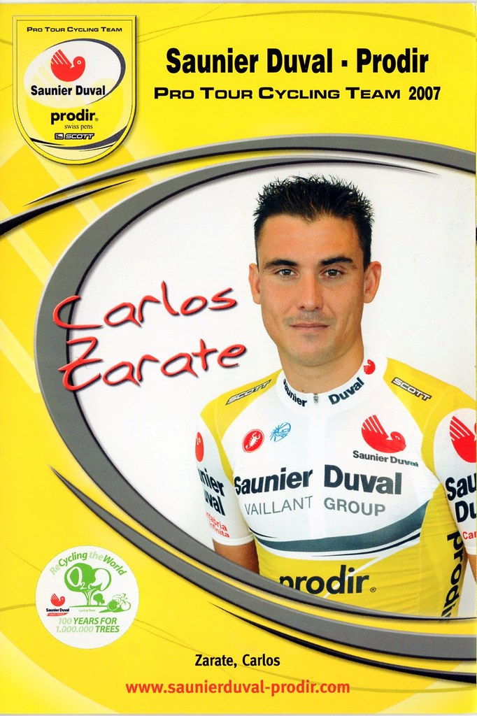 Carlos Zarate - Saunier Duval Prodir 2007