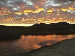 Carmel River Lagoon at sunrise