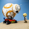 """BB-8 : """"We're going to need a bigger ATV!"""""""