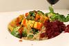 Rice and Quinoa Bowl with Crispy Tofu