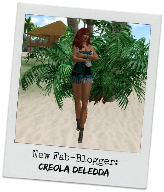 New FabFree Blogger!  Introducing Creola Deledda!