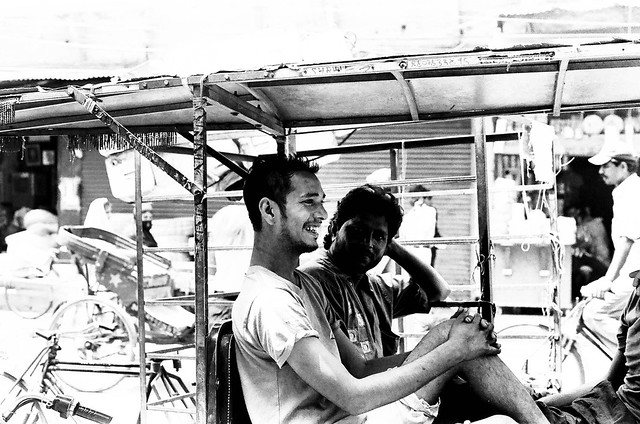 Delhi on B&W acros 100 pushed 3 stops and TMax400-13