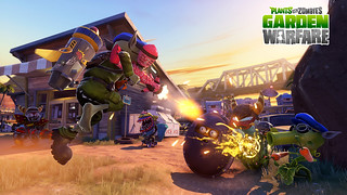 Plants vs. Zombies Garden Warfare on PS4 and PS3