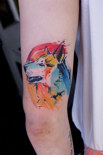 Dog Tattoo Abstract