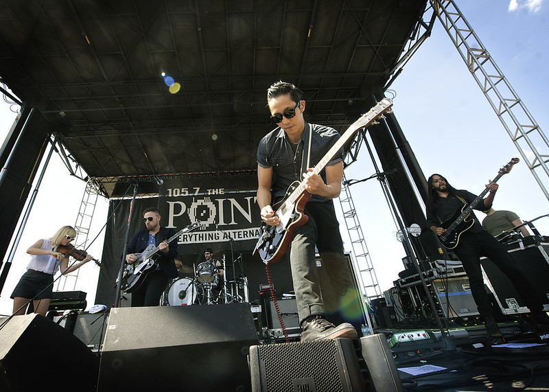 The Airborne Toxic Event @ Pointfest 2014