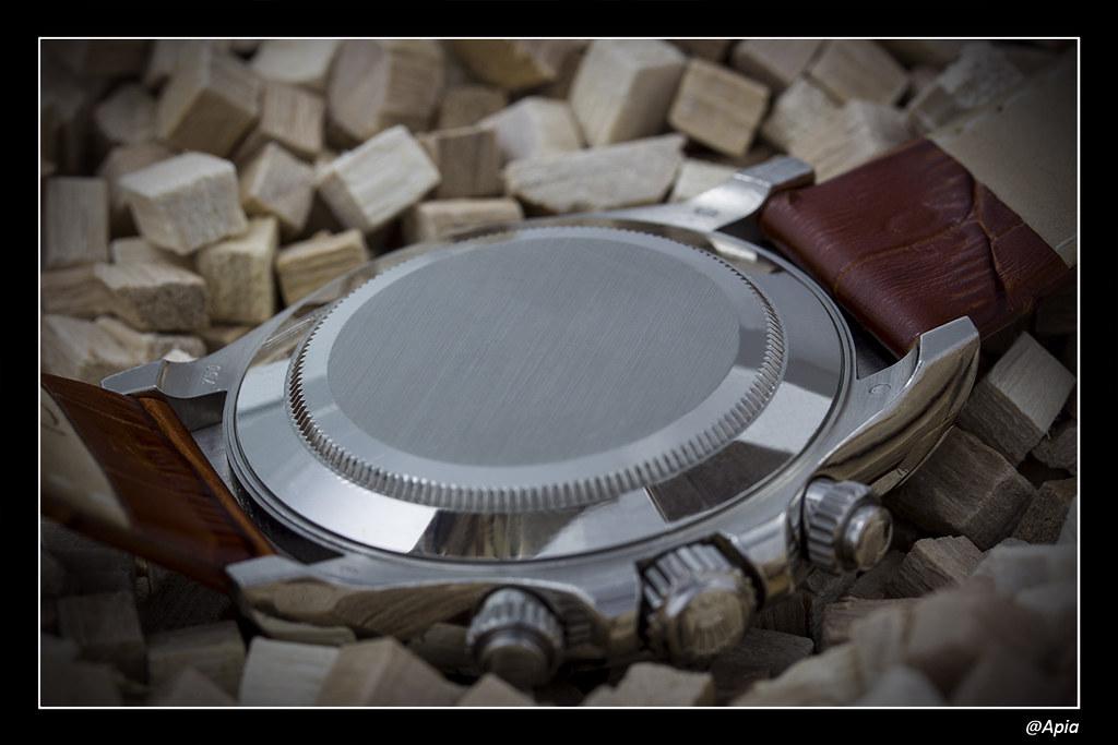 Daytona - [Revue] Rolex Daytona 116519 cadran Météorite ... alias Inespérée ;) 14163455154_acbb180043_b