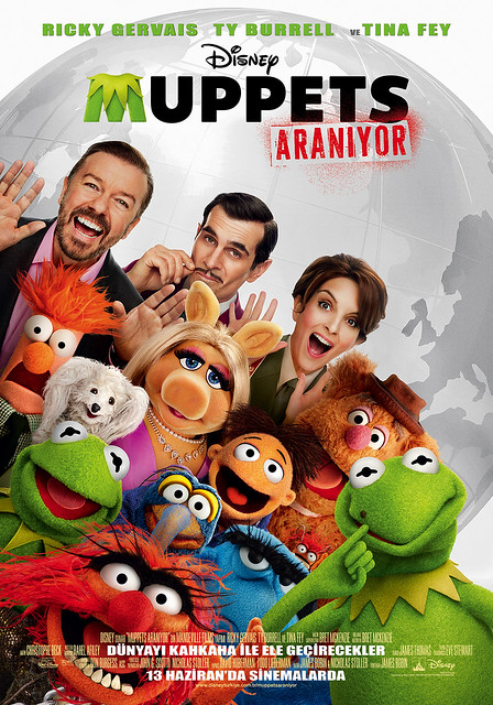 Muppets Aranıyor - Muppets Most Wanted (2014)
