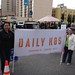 IMG 2458 navajo & Lusty with the Daily Kos banner at KXL protest
