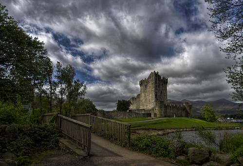 ireland clouds photoshop kerry killarney topaz rosscastle