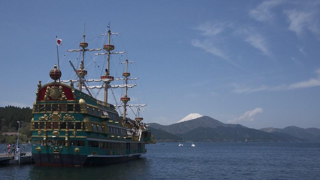 Boat on Lake Ashi